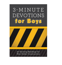 Barbour Publishing 3 Minute Devotions for Boys