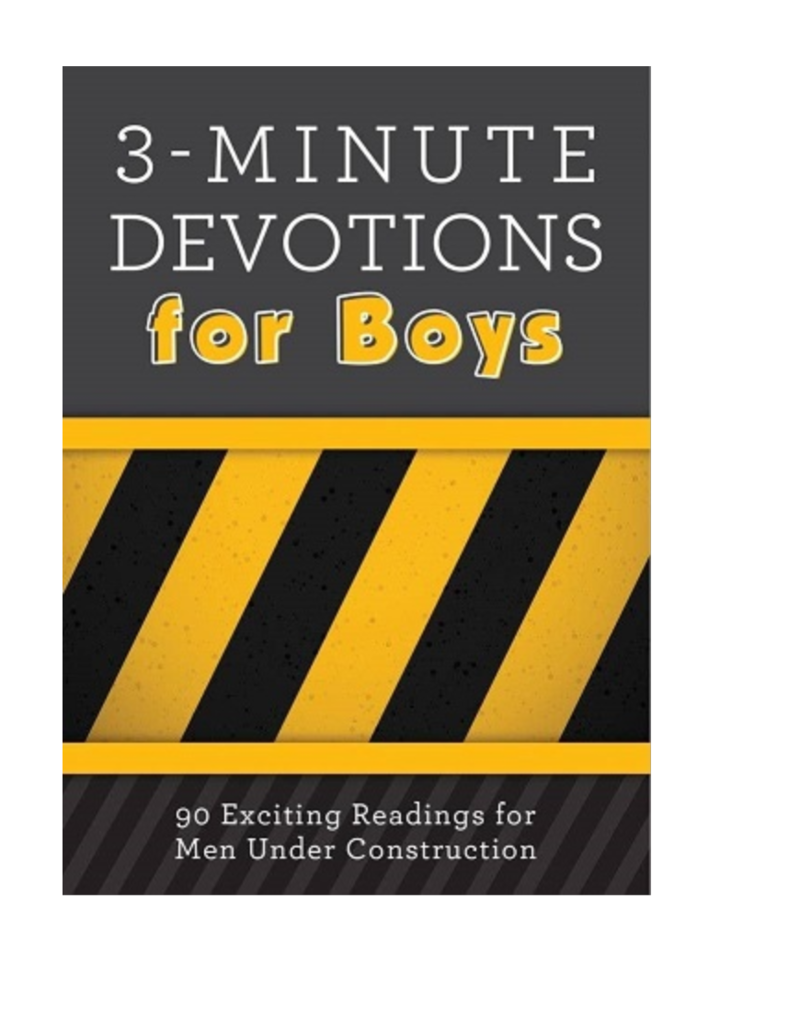 Barbour Publishing 3 Minute Devotions for Boys