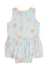 Angel Dear Hello Daisy Blue Bodysuit w/Skirt