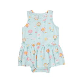 Angel Dear Hello Daisy Blue Bodysuit w/Skirt