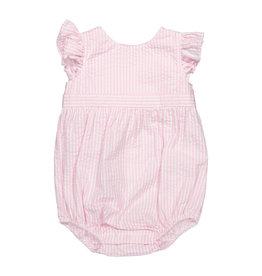 Classic Prep Beatrice Bubble Pink/White Stripe 3/6M-18/24M