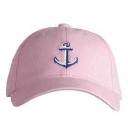 Harding Lane Baseball Cap Light Pink w/Anchor