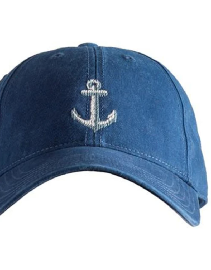 Harding Lane Baseball Cap Navy w/Anchor