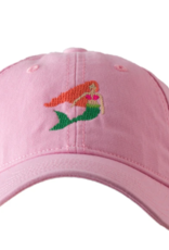 Harding Lane Baseball Cap Light Pink w/Mermaid