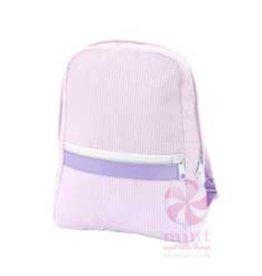 Mint Sweet Little Things Small Backpack Princess Seersucker
