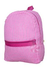 Mint Sweet Little Things Med Backpack Hot Pink Seersucker