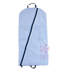 Mint Sweet Little Things Hanging Garment Bag Navy Seersucker