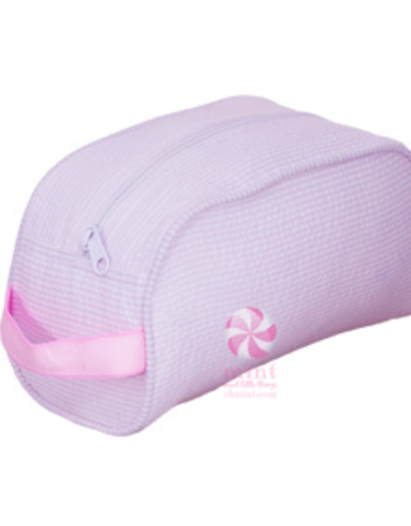 Mint Sweet Little Things Traveler Pink Seersucker