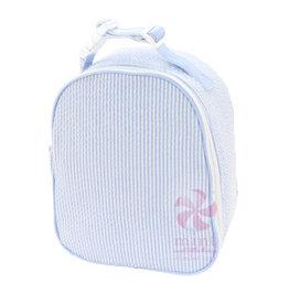 Mint Sweet Little Things Gumdrop Lunchbox Baby Blue Seersucker