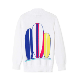 Classic Prep Boys Surf Intarsia Sweater