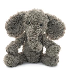 Jellycat Squiggles Grey Elephant