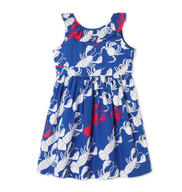 Classic Prep Avery Dress Lobster Invasion 2T-5