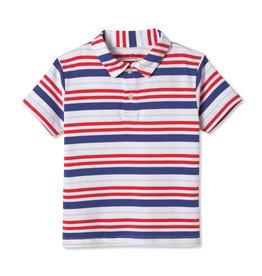 Classic Prep Henry S/S Polo Bittersweet Stripe