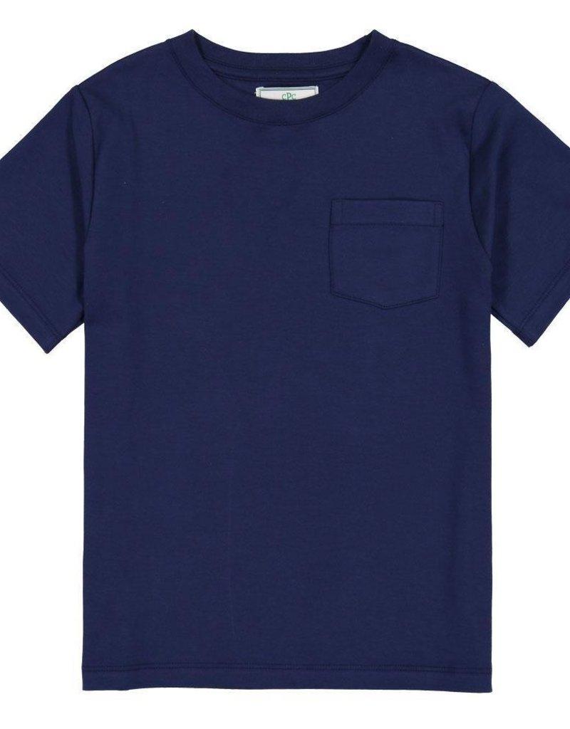 Classic Prep S/S Pocket Tee Medieval Blue