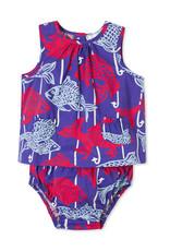Classic Prep Sophie 2 pc Sunsuit Fishy Fishy Print