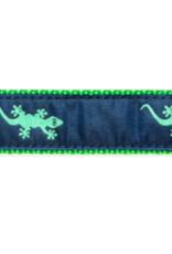 Preston Preston Leather Belt w/Gecko