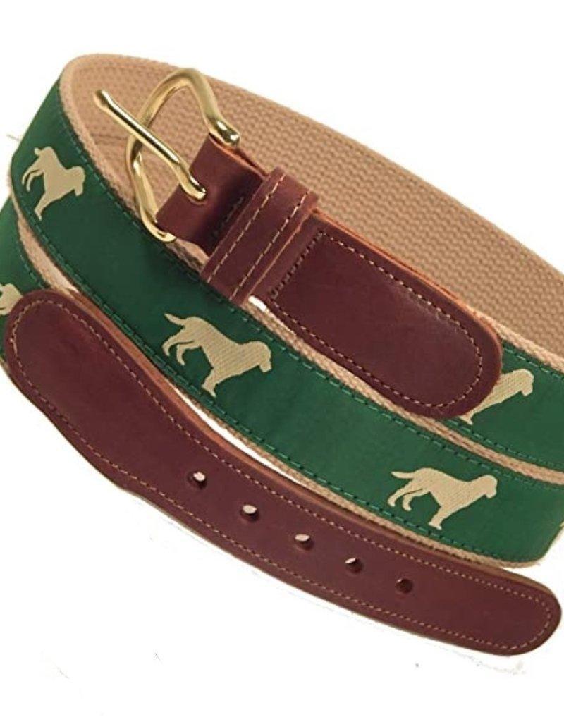 Preston Preston Leather Belt w/Dog