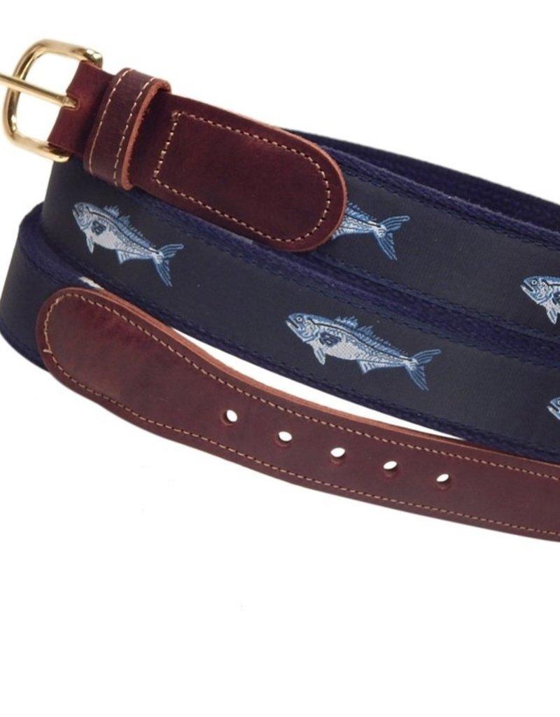 Preston Preston Leather Belt w/Bluefish