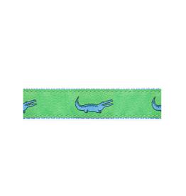 Preston Preston Leather Belt w/Alligator