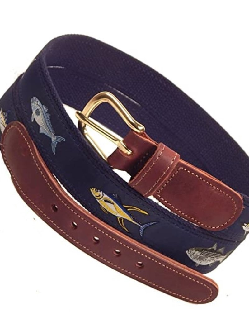 Preston Preston Leather Belt w/4 Fish