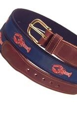 Preston Preston Leather Red Belt w/Lobster