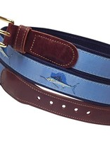 Preston Preston Leather Belt w/Sailfish