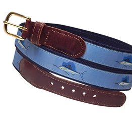 Preston Preston Leather Belt w/Sailfish
