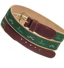 Preston Preston Leather Belt w/Golf