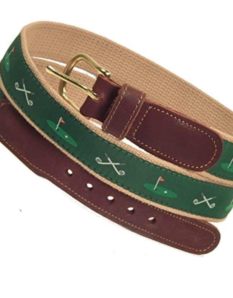 Preston Preston Leather Belt w/Golf