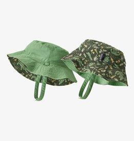 Patagonia Sun Bucket Hat Alligators/Bullfrogs 3/6M-12/24M