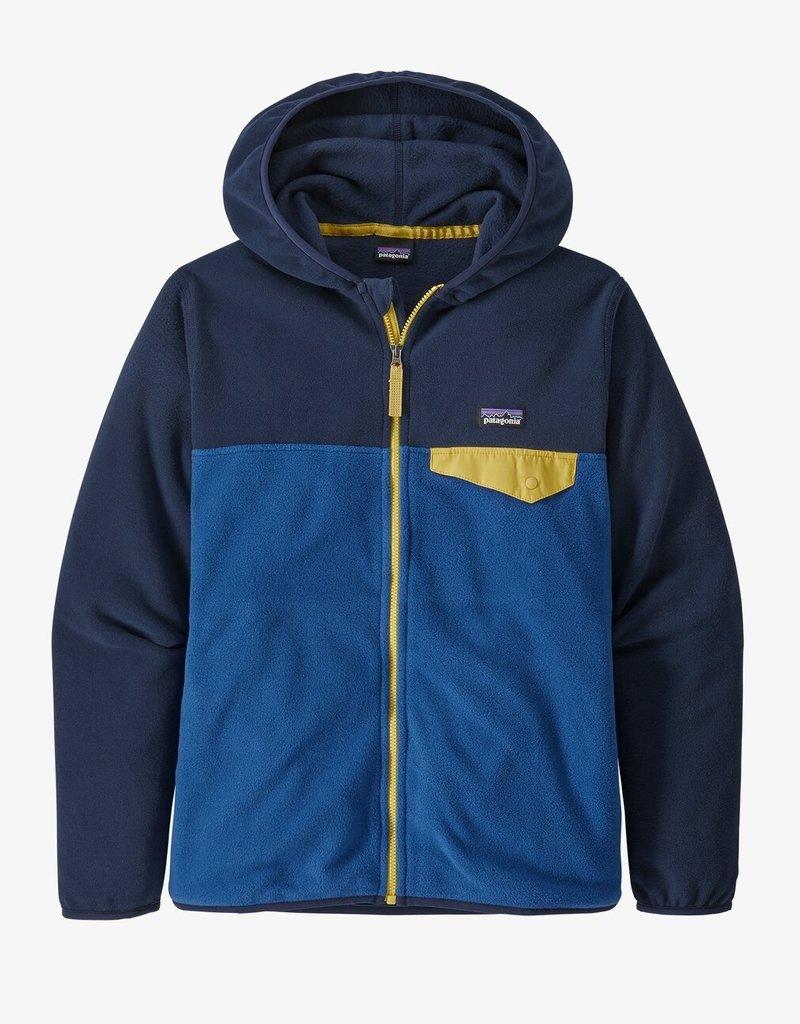 Patagonia Boys Micro D Snap-T Jacket SPRB Superior Blue