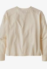 Patagonia LW Crew Sweatshirt FSWA Fitz Script White Wash
