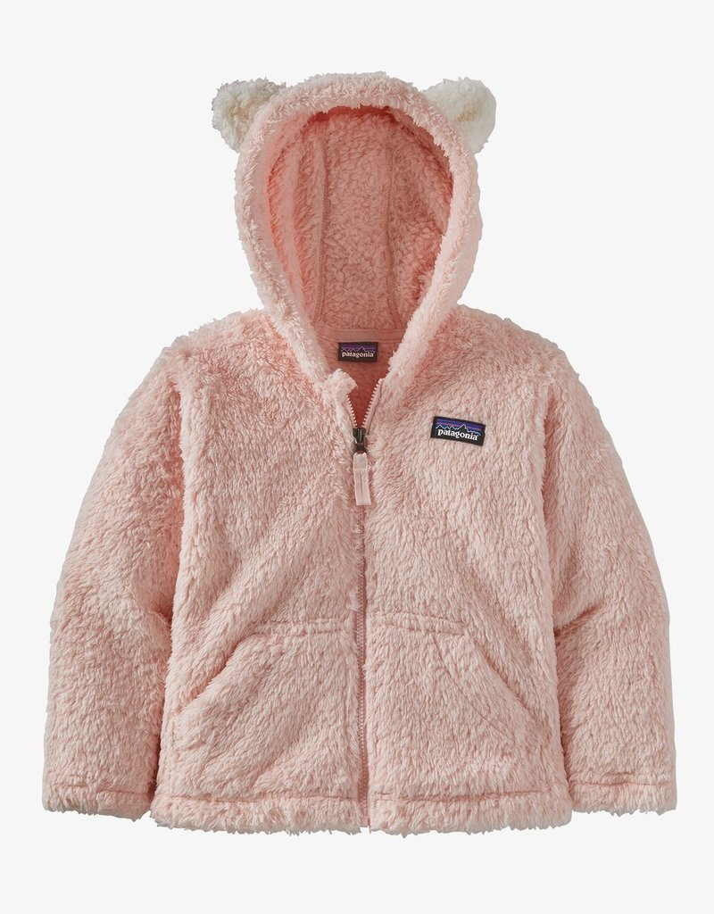 Patagonia Baby Furry Friends Hoody SEFP Seafan Pink