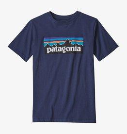 Patagonia Boys P-6 Logo Tee NENA