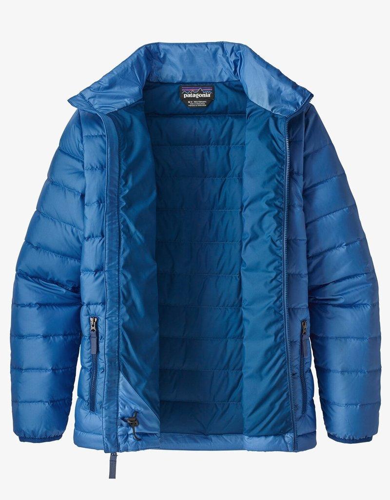 Patagonia Boys Down Sweater BYBL Bayou Blue