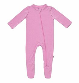 Kyte Baby Zippered Footie in Bubblegum 0/3M-12/18M