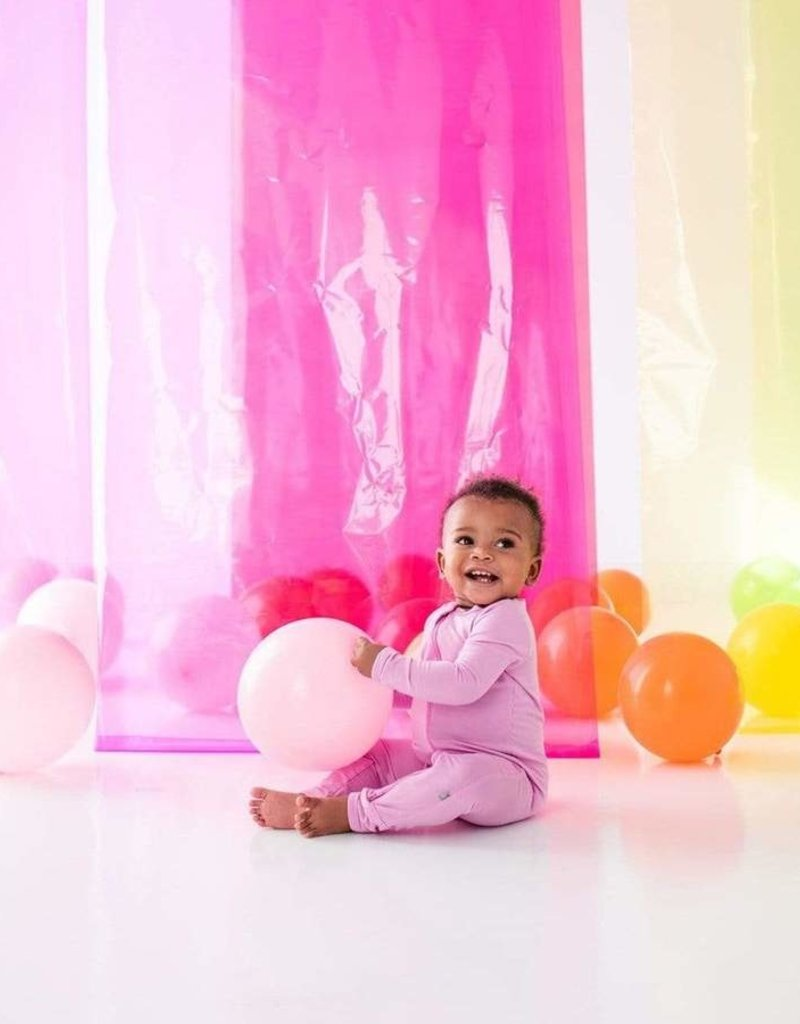 Kyte Baby Zippered Footie in Bubblegum