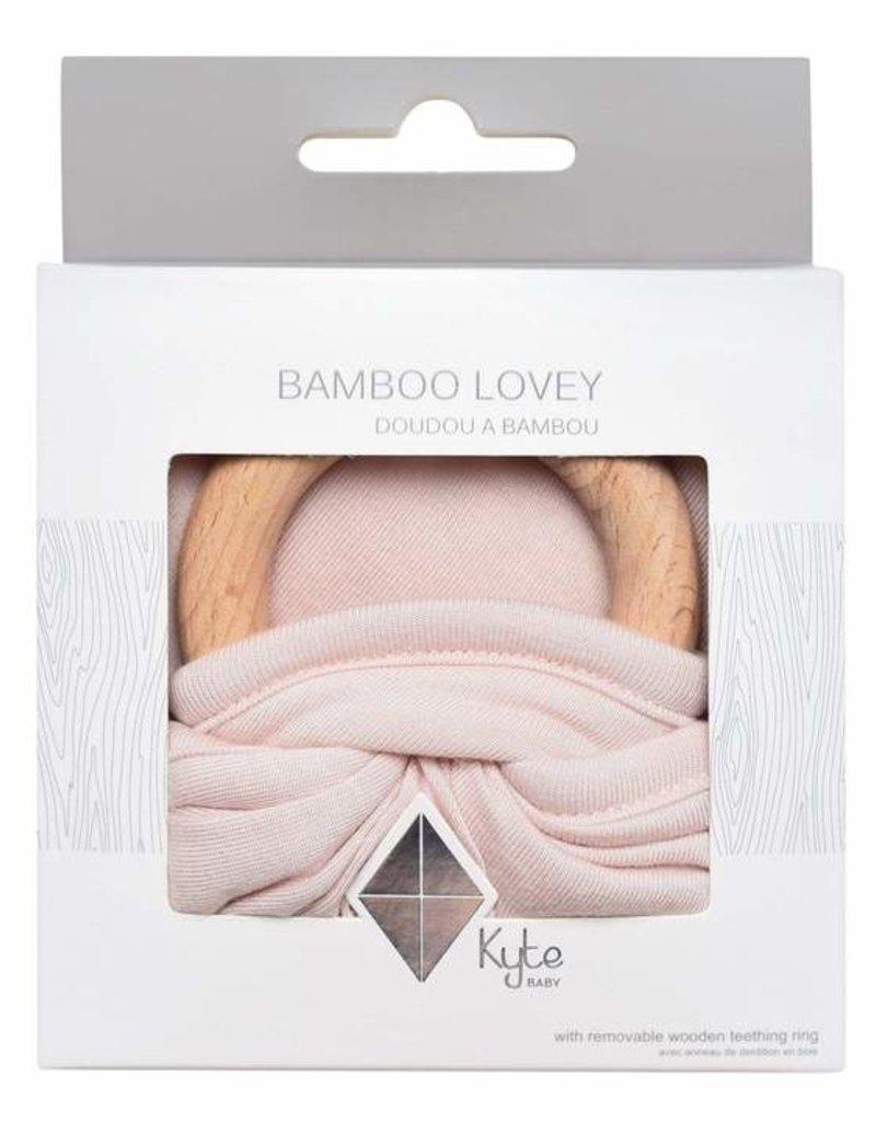 Kyte Baby Lovey in Blush Teething Ring