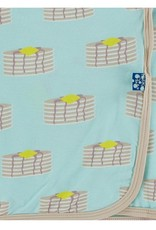 Kickee Pants Print Swaddle Summer Sky Pancakes