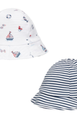 Kissy Kissy Summer Seas Reversible Sun Hat
