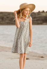 Rylee & Cru Roses Shoulder Tie Dress