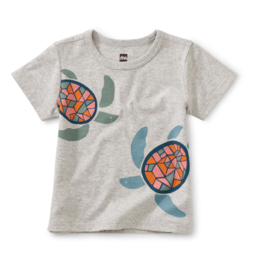 Tea Collection Sea Turtles Graphic Tee 3/6M-4T