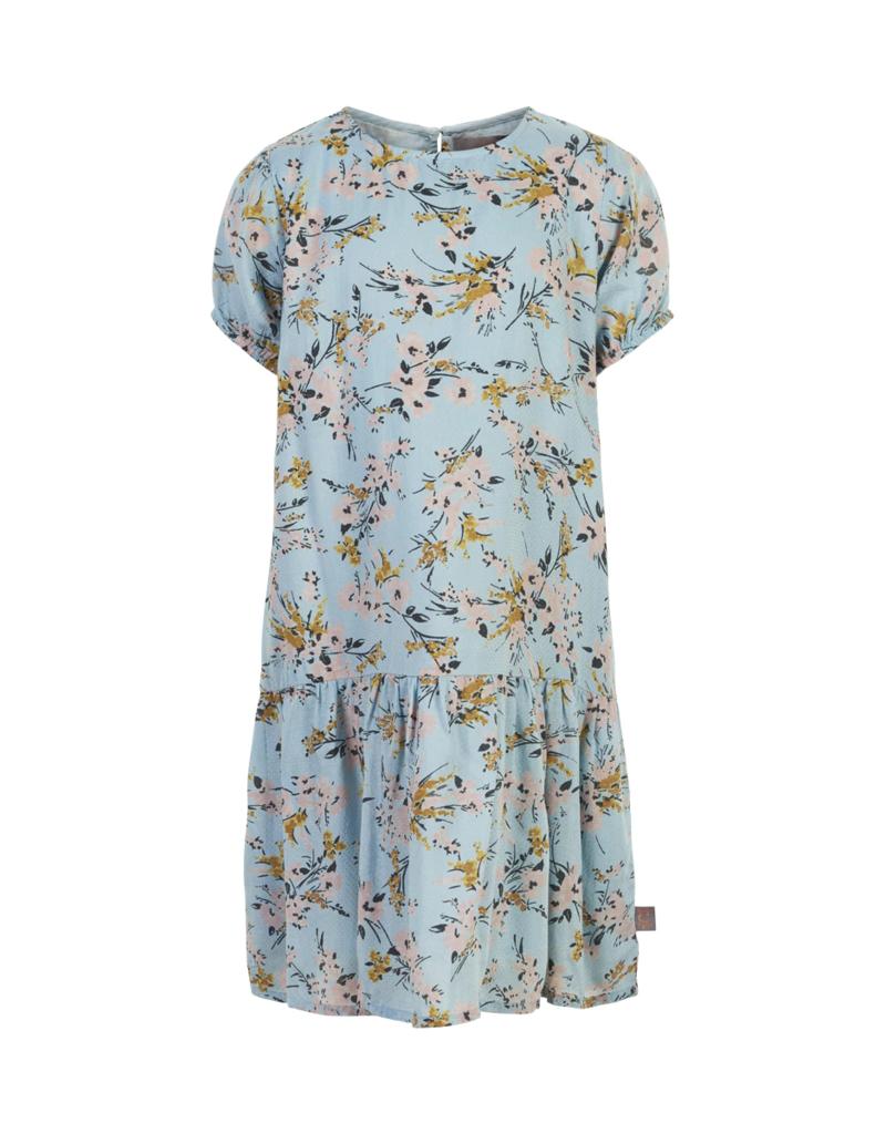 Creamie Flower Dobby Dress