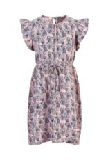 Creamie Printed Jersey Dress Rose Smoke