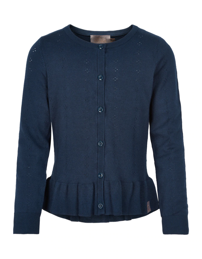 Creamie Pointelle Cardigan Total Eclipse