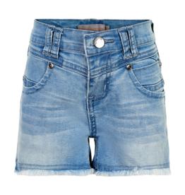 Creamie Denim Shorts Blue