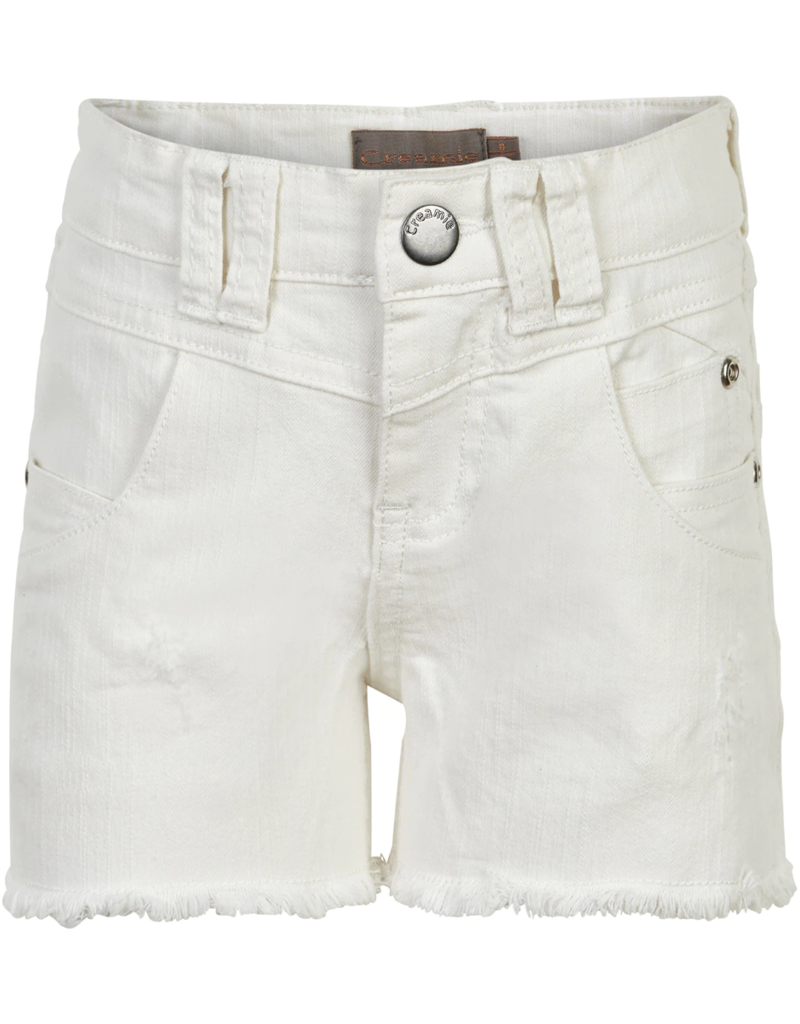Creamie Denim Shorts Cloud