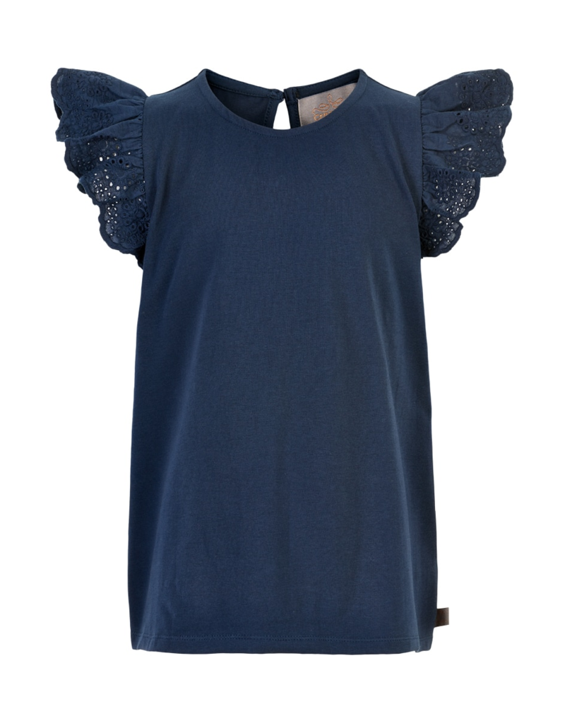 Creamie Lace S/S Tee Total Eclipse