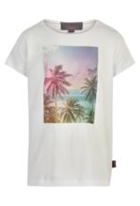 Creamie S/S Tee w/Palm Tree Photo