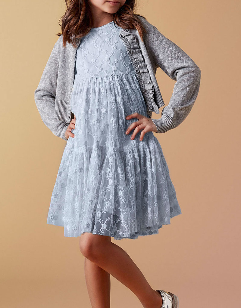 Creamie Tulle Dress Celestial Blue